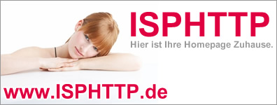 ISPHTTP.de - Hier ist Ihre Webseite Zuhause!
